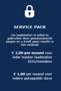 Laden met registratie - Service Pack
